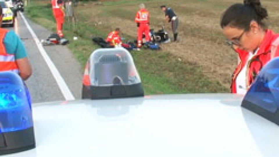 Incidente mortale sulla MarecchieseIncidente mortale sulla Marecchiese: vittima un 57enne in sella ad una moto