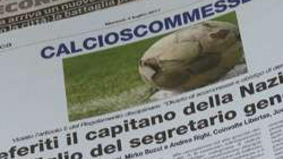 Calcioscommesse: i 4 calciatori deferiti rischiano 2 anni di squalifica
