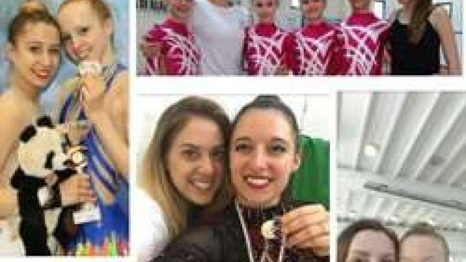 Ginnastica, è bis: Castiglioni e Tamagnini campionesse nazionali