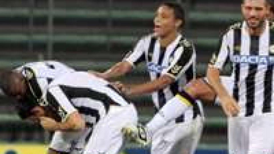 Udinese-Siroki: 4-0