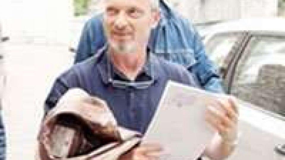 San Marino - Livio Baciocchi davanti all'Ordine degli avvocati