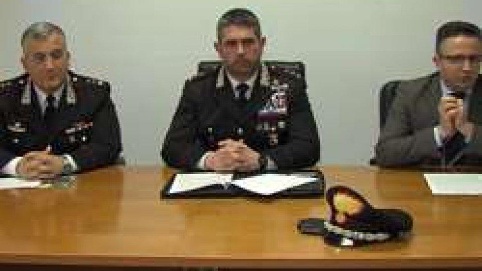CarabinieriSequestrati 250 kg di marijuana destinati al mercato dello spaccio di Rimini