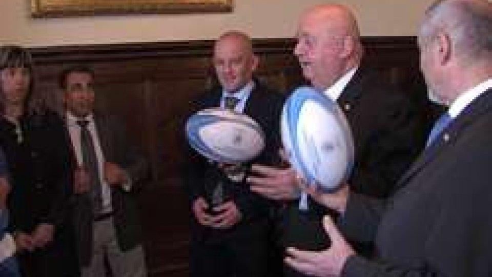 Rugby sammarinese in udienza dai Capitani Reggenti