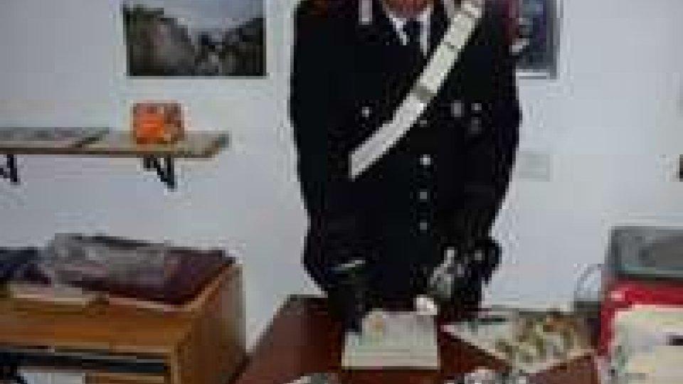 Viserba,10mila euro di materiale idraulico ritrovati dai carabinieri