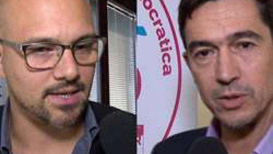 Dalibor Riccardi e Nicola SelvaAdesso.sm e PSD tracciano il bilancio post-consiliare