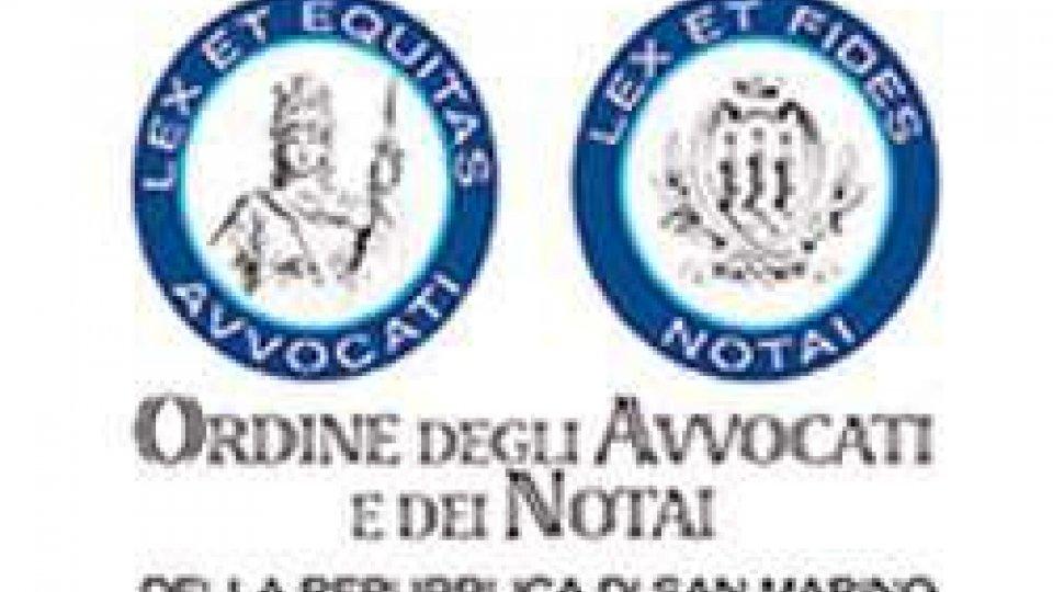 Ordine Avvocati e Notai: eletto il Consiglio Direttivo ed il Collegio dei Sindaci Revisori