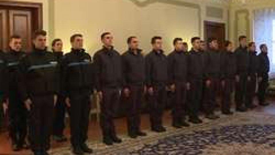 25 nuovi allievi dei Corpi Militari25 nuovi allievi dei Corpi Militari: il saluto delle Istituzioni