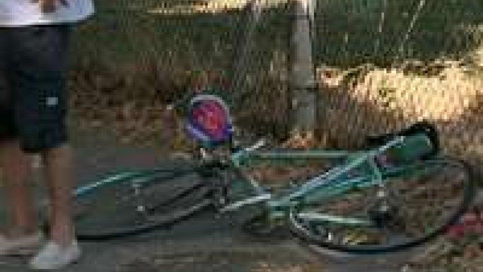 San Giovanni in Marignano: perde la vita ciclista 84enne