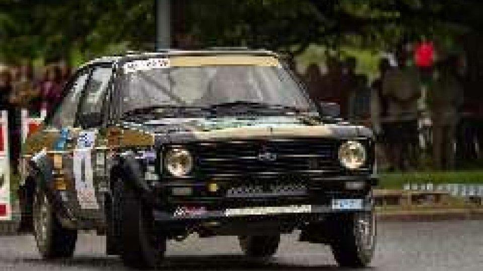 Giuliano CalzolariGrande Calzolari al Lathi Historic Rally