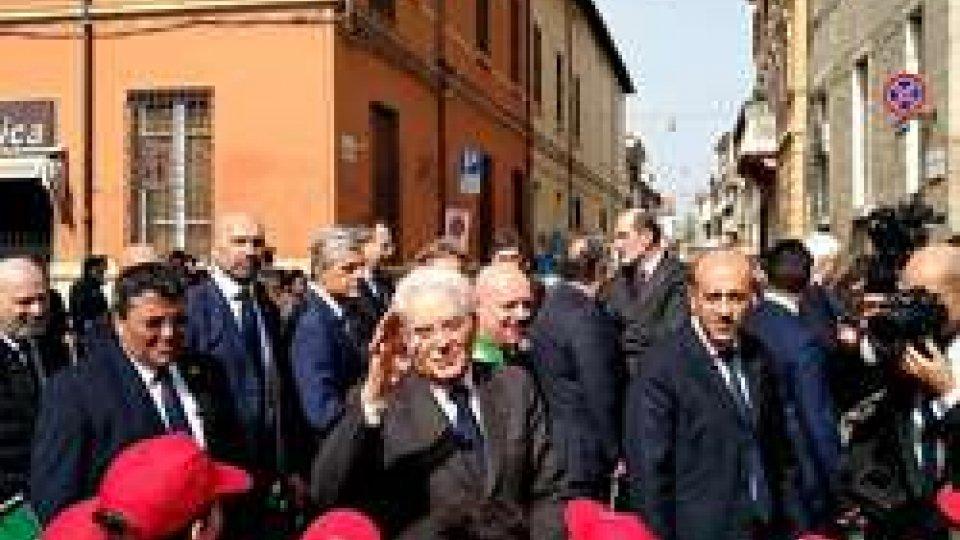Mattarella a Forlì (@twitter)