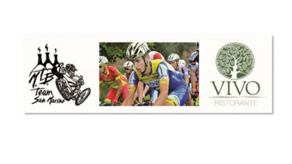 San Marino MTB Team e Ristorante Vivo insieme per Michael Antonelli