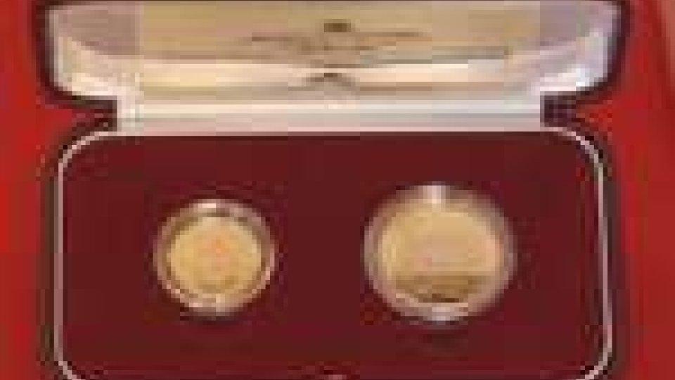Tesori Sammarinesi: emessi due scudi in oro