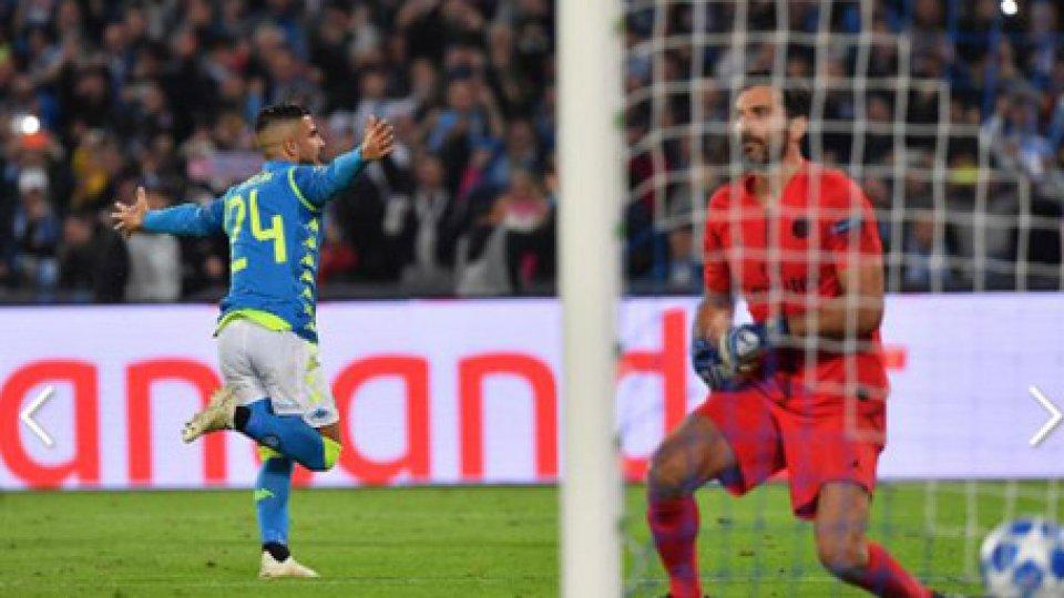 Il pareggio di InsigneChampions: Inter e Napoli non steccano. Le dichiarazioni di Spalletti e Cavani