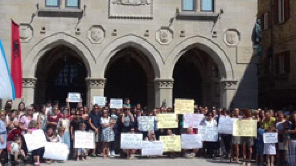 Decreto scuola, gli insegnanti hanno manifestato sul Pianello