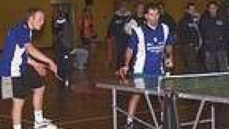 Tennis tavolo: il girone europeo
