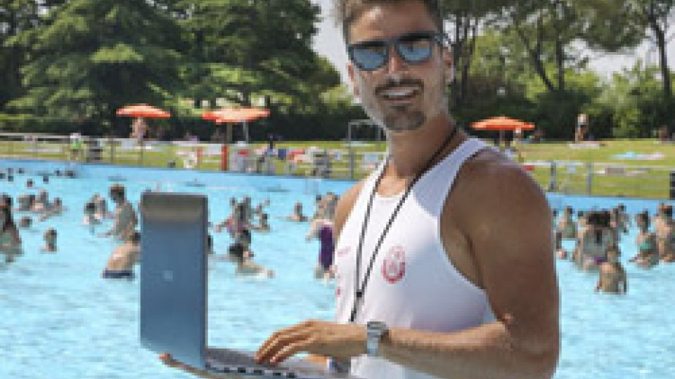 Una app per gestire i bagnini di Aquafan fra gli scivoli