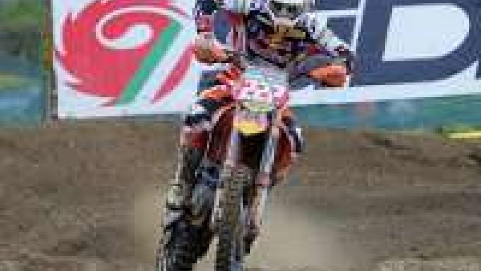 Motocross: Cairoli tentenna, ma a tre gare dal termine mantiene il primato in classifica mondiale.Motocross: Cairoli tentenna, ma a tre gare dal termine mantiene il primato in classifica mondiale