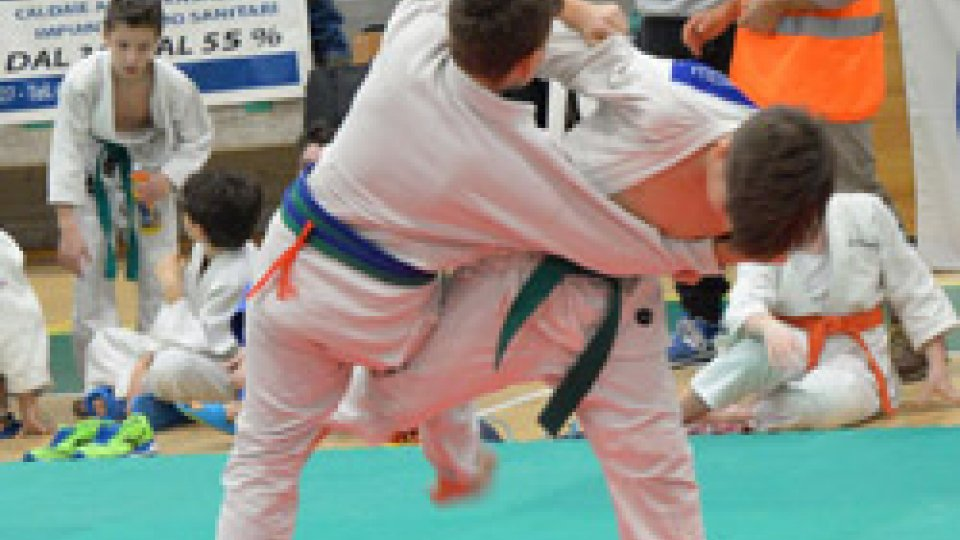 Gara di Judo all'Acquaviva Hall - Torneo Roberto Hatfull