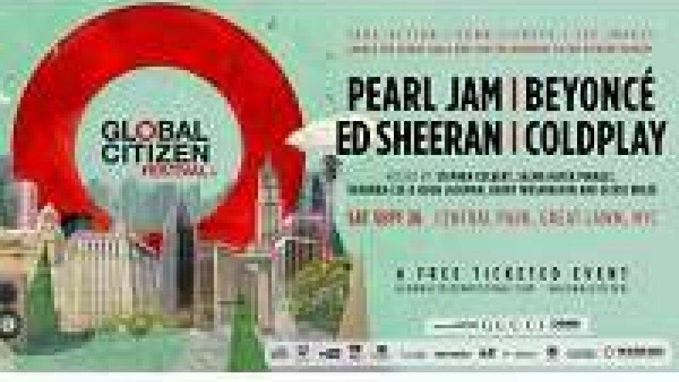Pearl Jam e Coldplay contro povertà