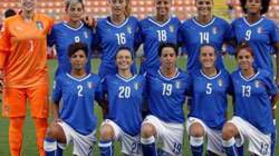 La nazionale femminileFemminile: rimonta con vista Europeo per le Azzurre di Cabrini