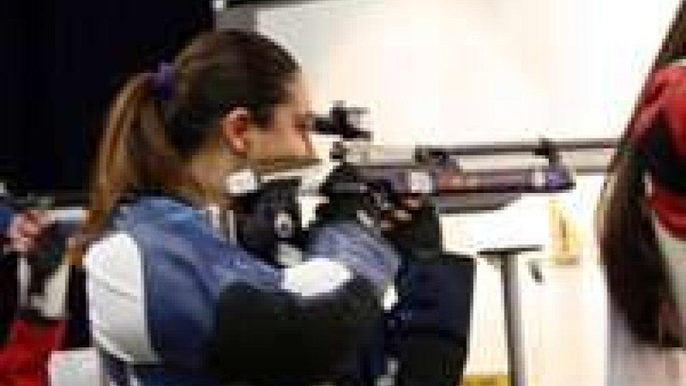Carabina 10 metri donne : Giulia Guidi chiude all'ottavo posto