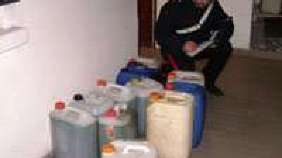 """Operazione """"Setaccio"""": in manette due rumeni per furto di gasolio"""
