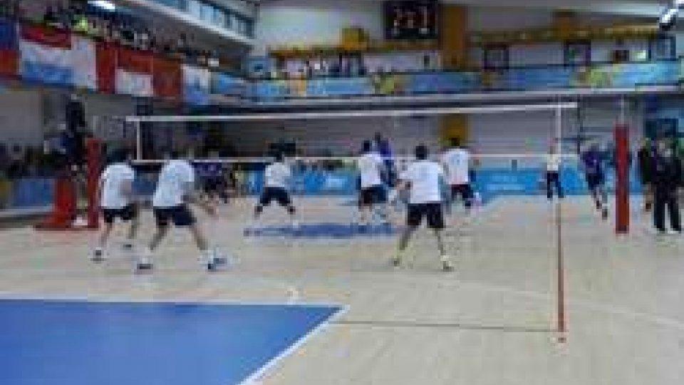 Volley uomini: Cipro vince 3-0 con San Marino