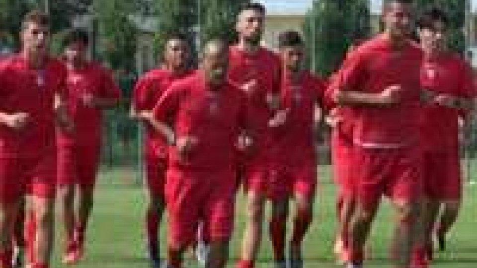 Rimini Calcio: primi test fisici in vista del ritiro di NorciaRimini Calcio: primi test fisici in vista del ritiro di Norcia