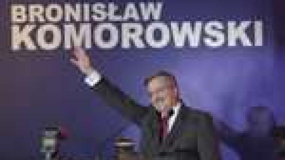 Presidenziali Polonia, guida Komorowski