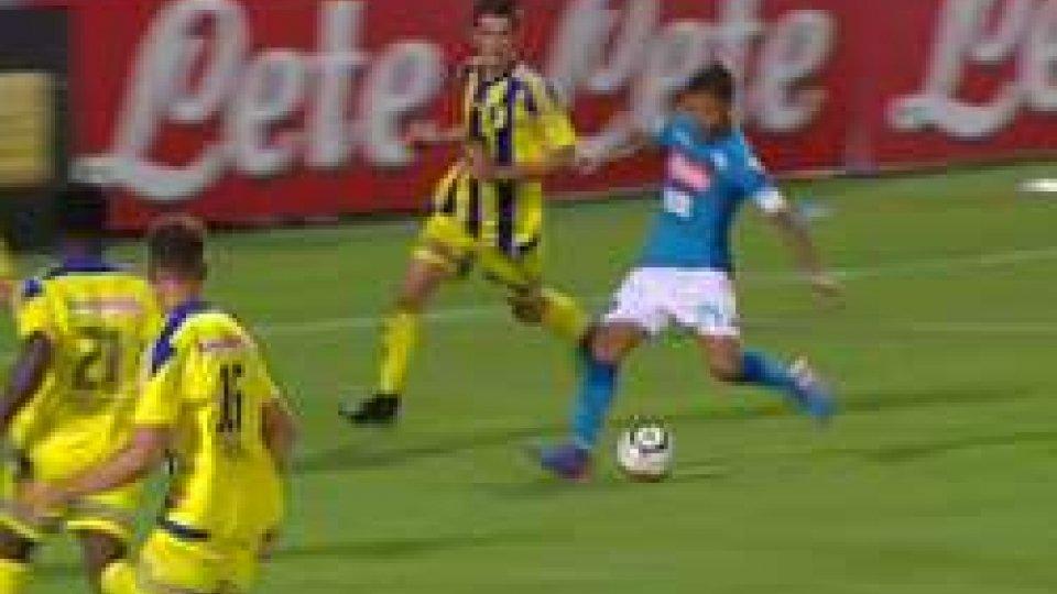 Napoli - Trento 7-0Il Napoli sommerge il Trento: 7-0, doppietta di Milik