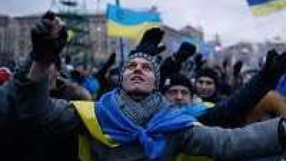 Manifestazioni pro Ue in Ucraina