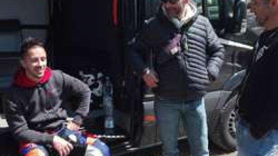 Andrea Dovizioso e Massimo Zani (FMS)Baldasserona: con Andrea Dovizioso un test mondiale