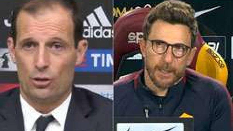 """Allegri e Di FrancescoDi Francesco: """"Ci servono punti per la Champions, allenerei volentieri Balotelli"""""""
