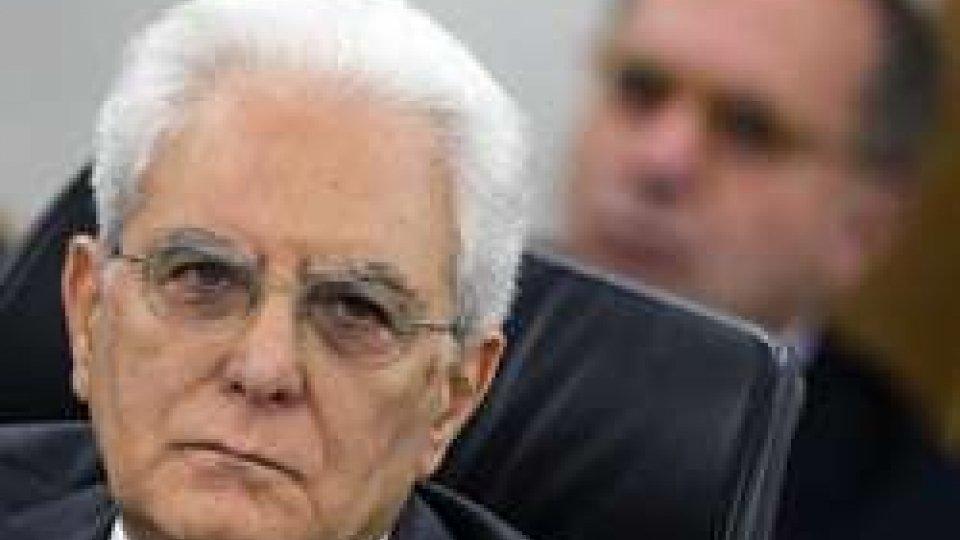 Sergio Mattarella. Foto ansa