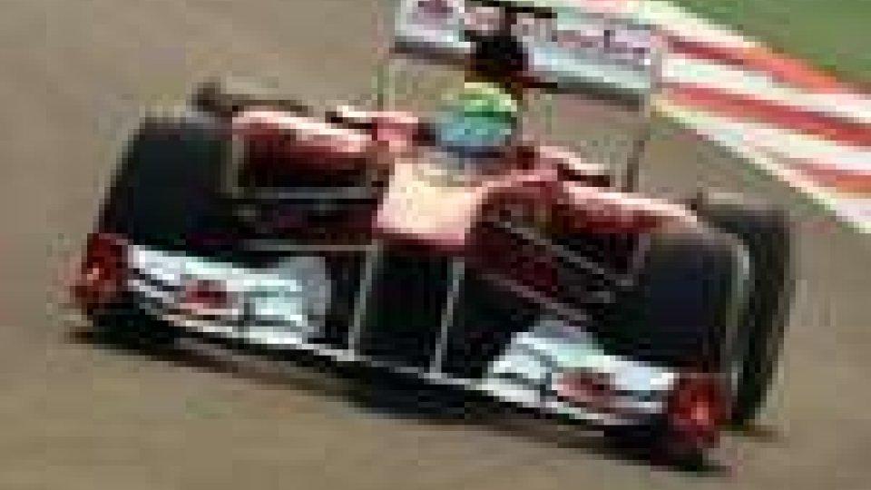 Formula 1. Miglior tempo per Felipe Massa nelle libere in India