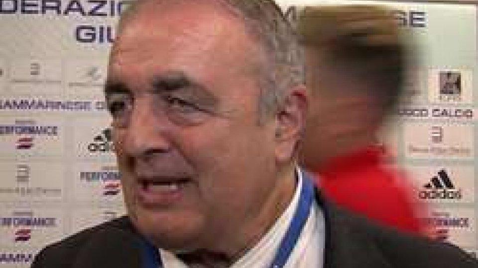 """Giorgio CrescentiniCrescentini su """"Euro 2019 U21"""" a San Marino: """"Speranza fondata, idea nata in riunione con FIGC"""""""