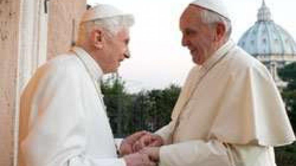 Papa Francesco e Papa BenedettoMonsignor Turazzi scrive a Papa Francesco e a Papa Benedetto