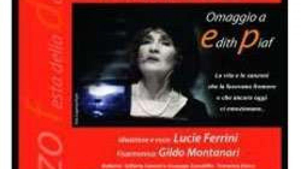 """""""La Mome"""", dedicato a Edith Piaf"""