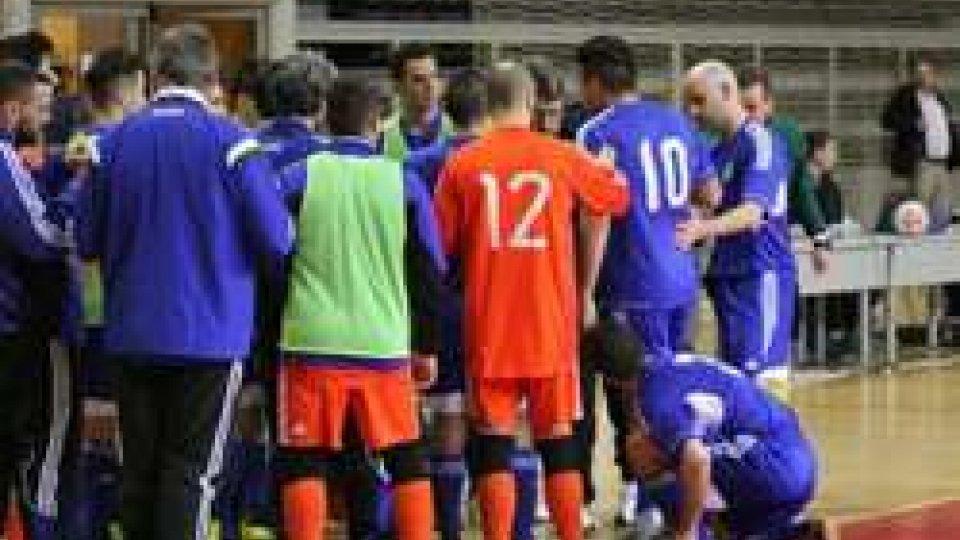 Futsal: San Marino battuto dalla Danimarca