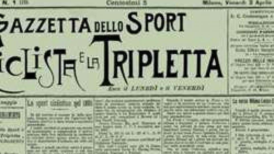 """il primo numero de """"La Gazzetta dello Sport"""""""