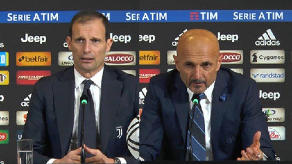 Allegri e SpallettiJuve-Inter la decide Mario Mandzukic