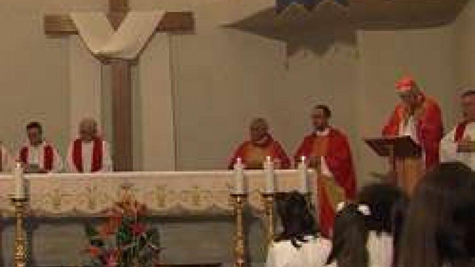 Madonna della ConsolazioneLa FESTA della CONSOLAZIONE in parrocchia a Borgo Maggiore