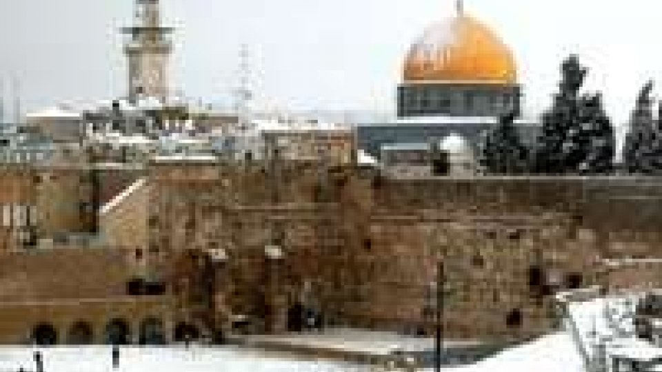 Maltempo: in Israele Gerusalemme si prepara alla neve