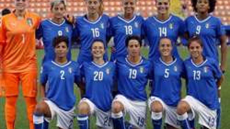 Femminile: girone durissimo la Nazionale