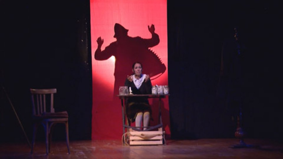Ieri sera al Titano lo spettacolo L'ANGELO DEL GHETTO DI VARSAVIAIrena Krizyzanowska Sendlerowa (una santa tra i bimbi del Ghetto)