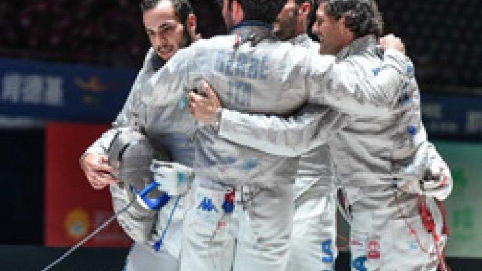 sciabola maschileMondiali di scherma: Italia d'argento nella sciabola maschile