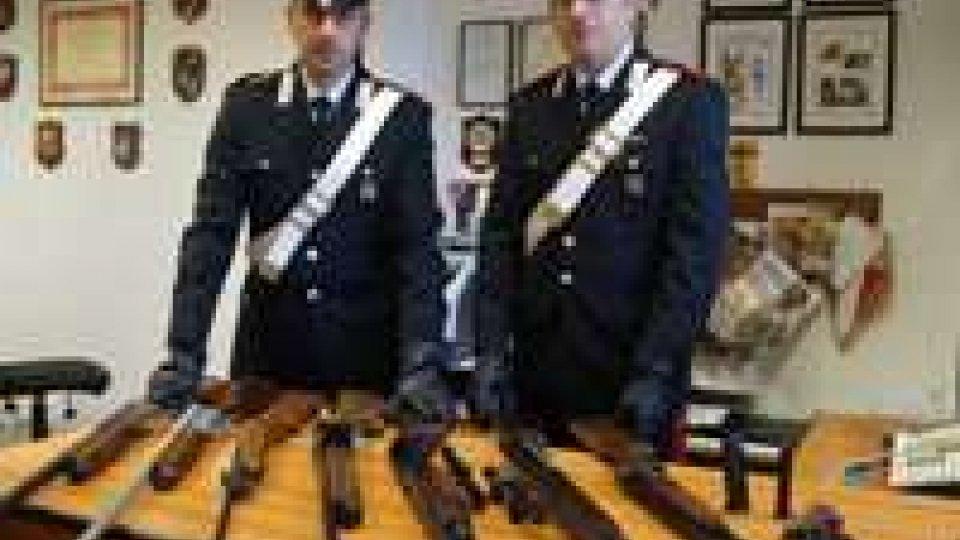 Carabinieri: vasta attività preventiva sulle armi in provincia di Rimini