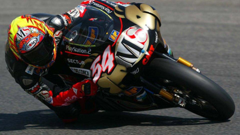 Manuel Poggiali15 anni fa a Valencia Manuel Poggiali per la seconda volta Campione del Mondo