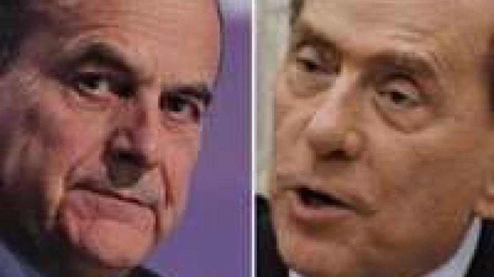 """Quirinale, incontro Berlusconi-Bersani: """"Siamo agli inizi"""""""