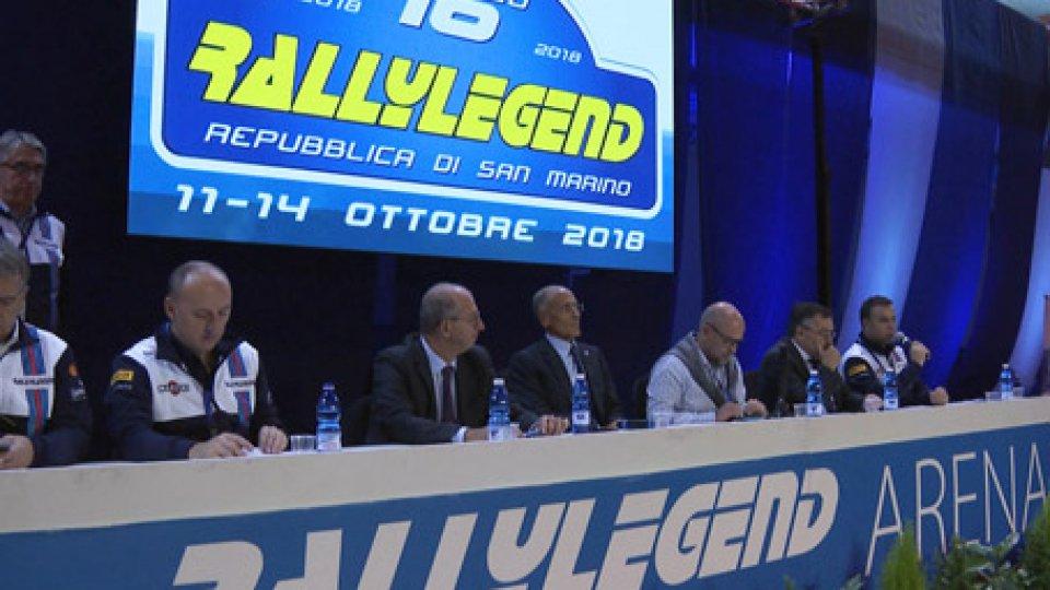 La conferenza di presentazioneRallyLegend 2018: oggi la conferenza stampa di presentazione